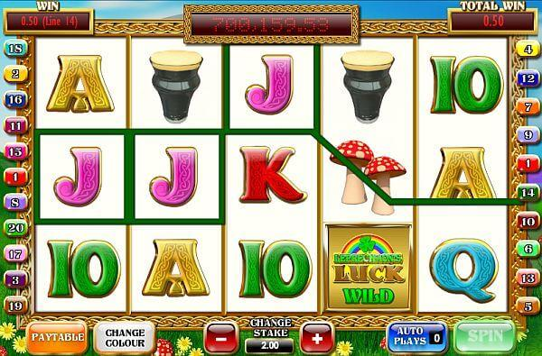 Leprechauns Luck slot £10 No Deposit Bonus