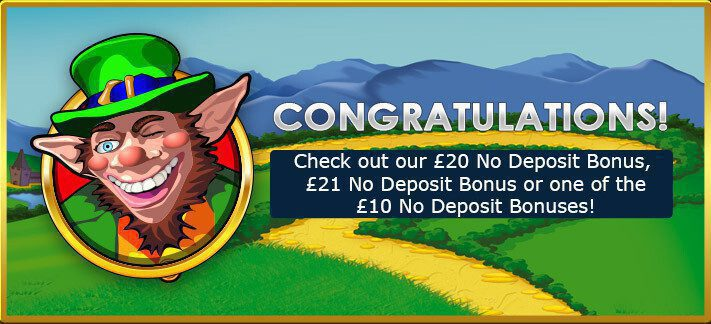 Play Rainbow Riches with £20 No Deposit Bonus