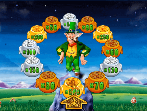 rainbow riches pots of gold bonus