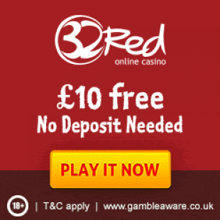 32Red Casino Review – £10 No Deposit Bonus