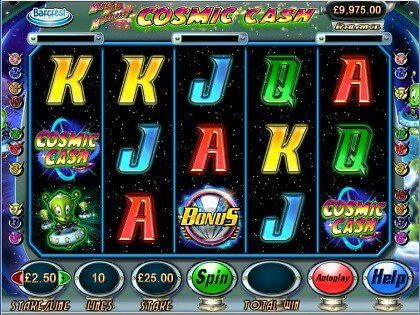 Money Mad Martians Cosmic Cash Slot Machine Play Online