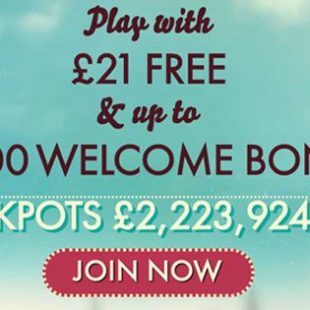 777 Casino £21 No Deposit Required Bonus