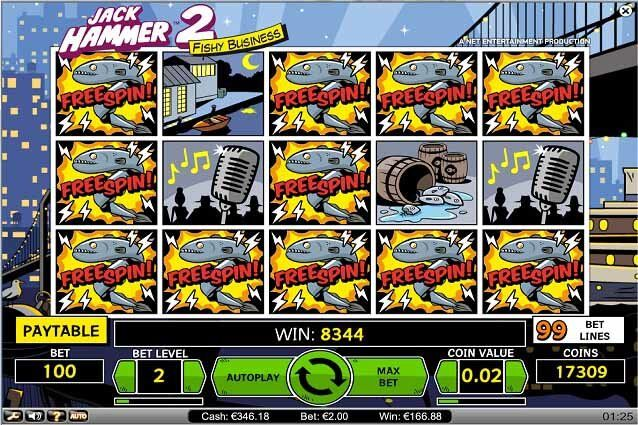 jack hammer 2 big win