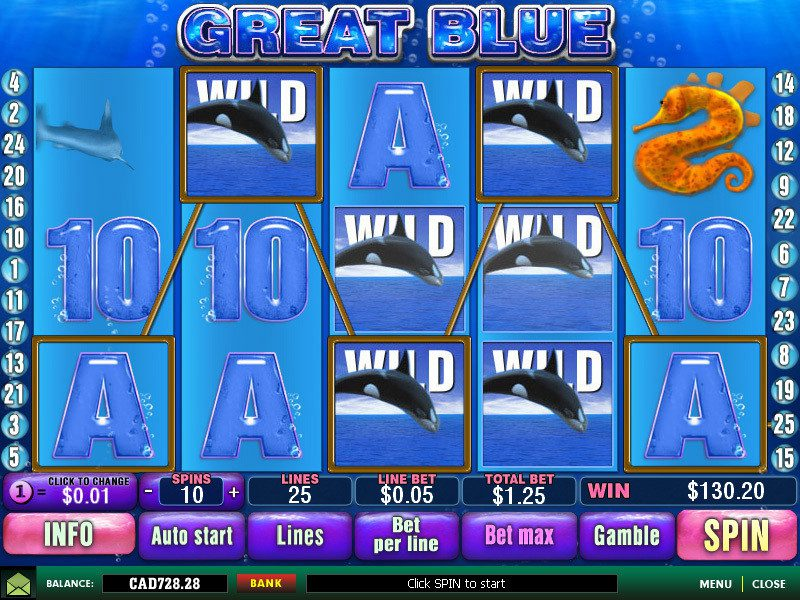 play Great Blue slot