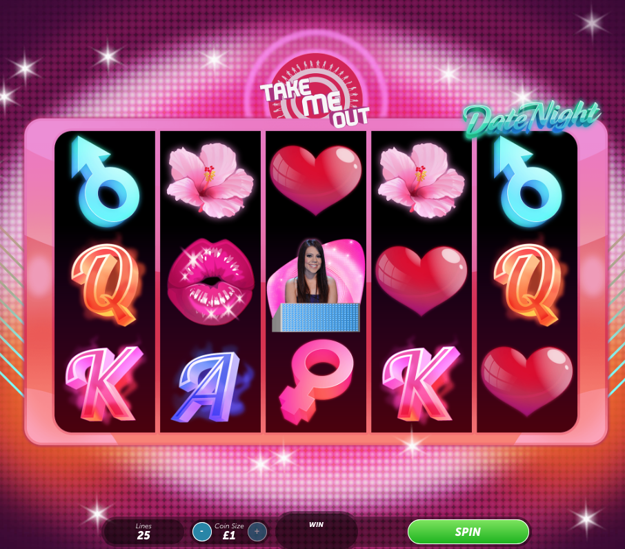 Take Me Out Date Night Slot machine