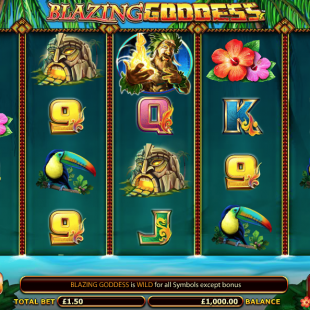 Blazing Goddess Slot Review & Bonuses