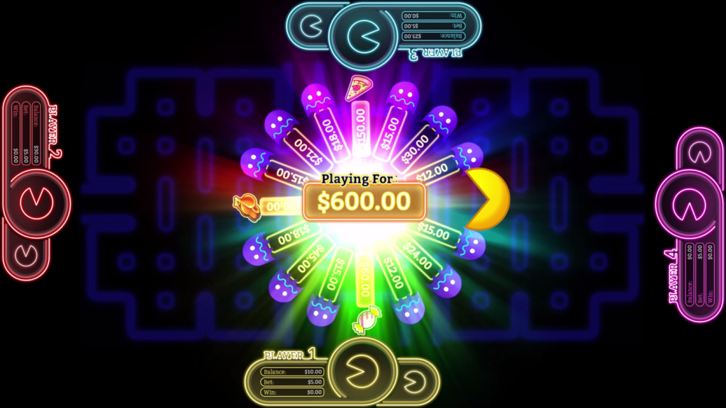 Place Your Bets on Pac-Man Battle Casino