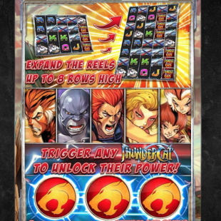 ThunderCats Slot Review & Bonus
