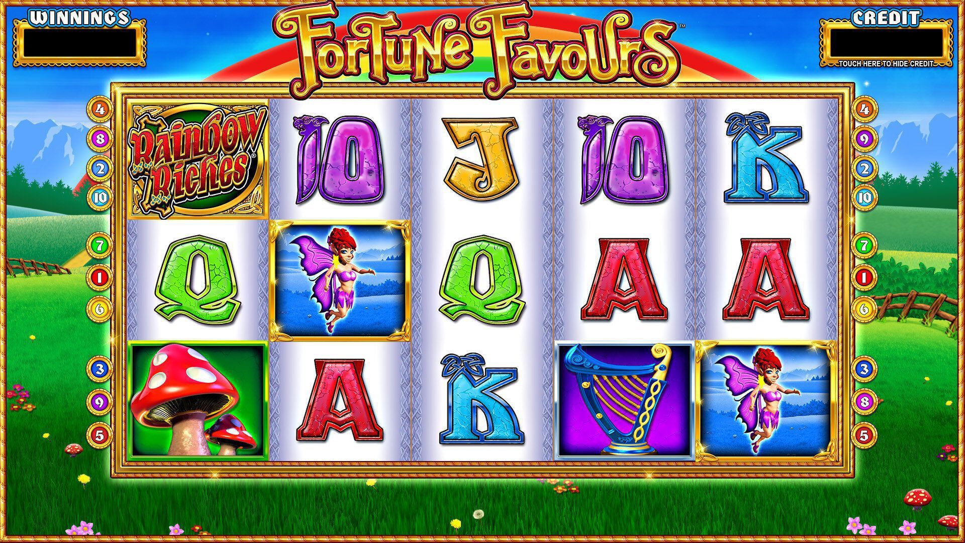 Rainbow Riches Fortune Favours, Where to Play Rainbow Riches Fortune Favours