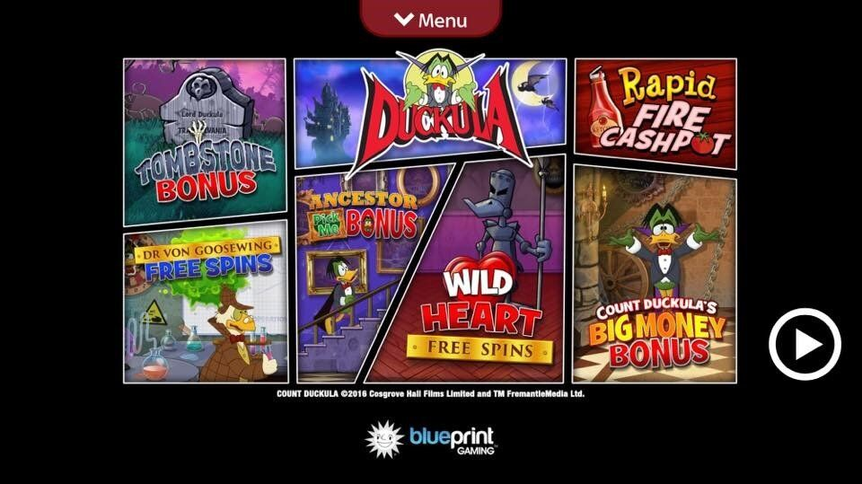 count duckula slot mobile version