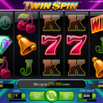 Play Twin Spin slot with a no deposit bonus