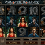 Play Immortal Romance slot with a no deposit required bonus