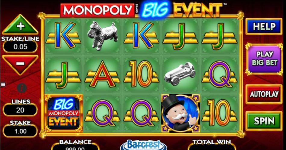 Juega Monopoly Big Event