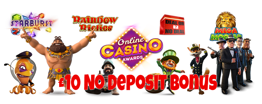Free £10 No Deposit Bonus Offers