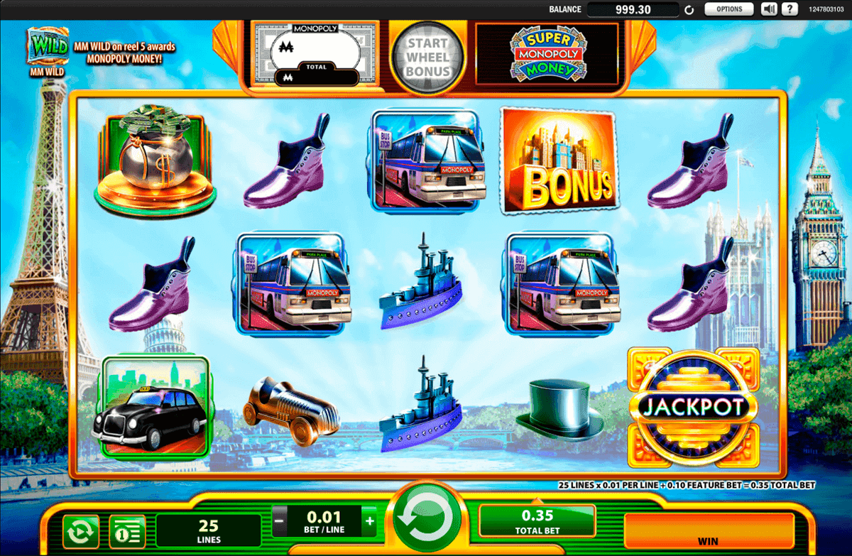 Play Super Monopoly Money Online