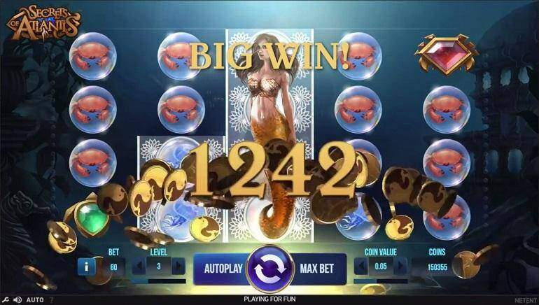 Play Secrets Of Atlantis Slot
