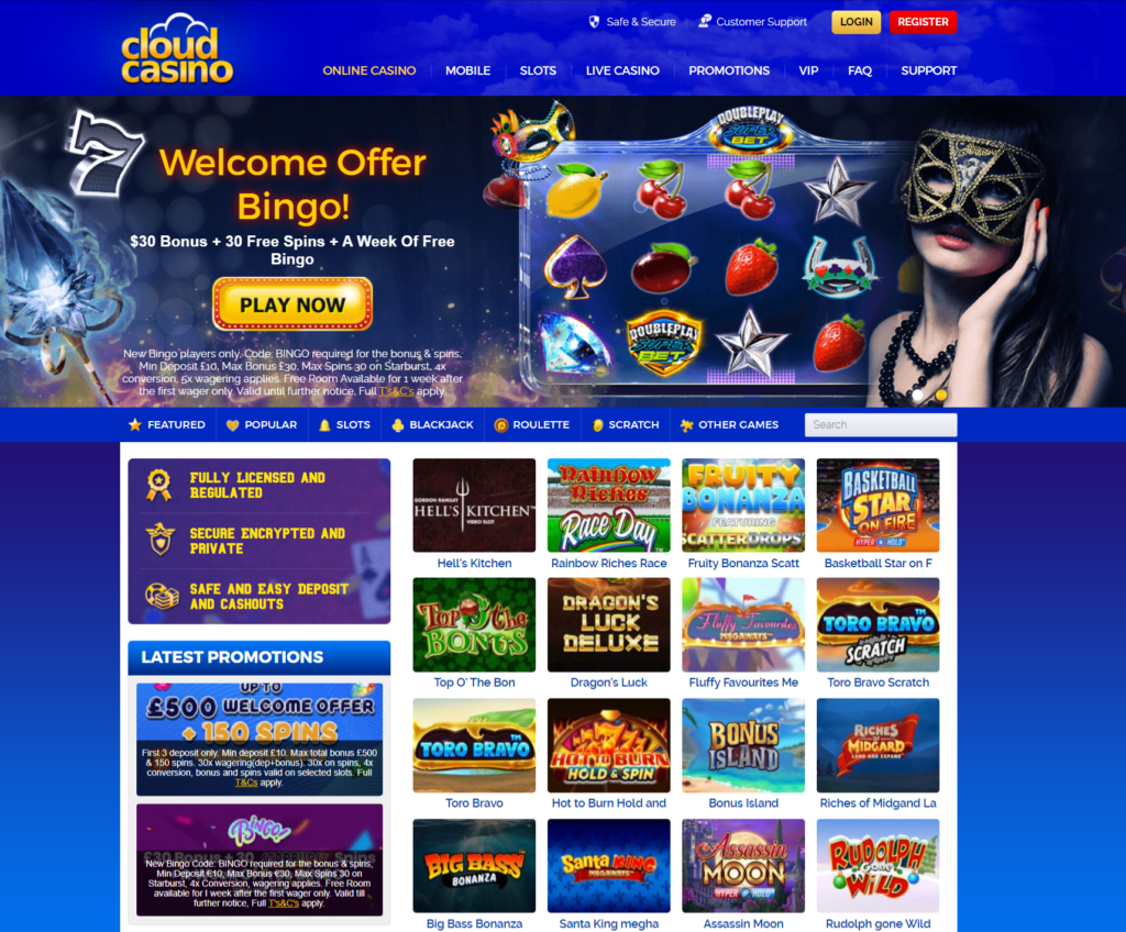 CloudCasino-upto-£500-150-spins-on-selected-slots