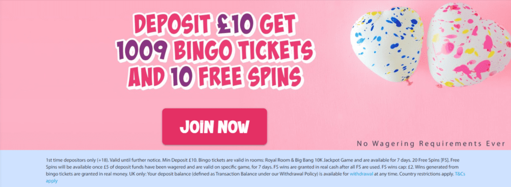 LoveHearts-Bingo-Top-UK-No-Wagering-Bingo-Site-Online